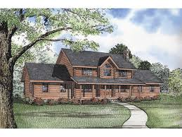 traditional two house plans glacier bay rustic log home plan 073d 0018 house plans and more