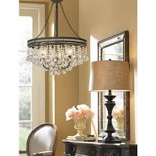 Bronze Chandelier With Crystals Pleasant Bronze And Crystal Chandeliers For Inspirational Home