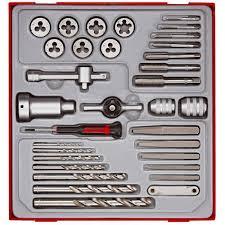 Dormer Tap And Die Set Teng Ttdtd34 34 Piece Tap Die Drill U0026 Extractor Set