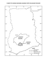 Map Of Ghana Gold Mining And The Development Of Obuasi In Adanse Pdf Download