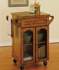 small kitchen island cart small kitchen cart home design and decorating
