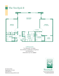spacious floor plans for beverwyck u0027s senior apartments u0026 cottages