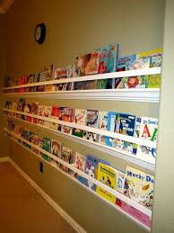 Vinyl Rain Gutter Bookshelves - raingutter bookshelf with crown molding just what i u0027m looking