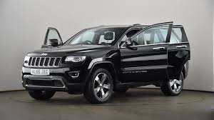 Used Jeep Grand Cherokee 3 0 Crd Limited Plus 5dr Auto Black