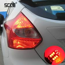 ford focus tail light bulb scoe 2x 30smd brake light tail light for ford focus 2 3 4 high