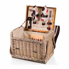 Wine And Cheese Basket Picnic Time Moka Kabrio Picnic Basket With Wine And Cheese Service