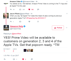 confirmed amazon black friday apple confirms amazon prime video coming to apple tv later this