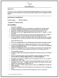 Over 10000 Cv And Resume by 17 Outstanding Resume Examples For Financial Analyst Sample