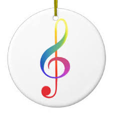 treble clef rainbow gifts on zazzle