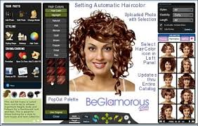 how to see yourself in a different hair color curly hairstyles try them on your photo online virtual colors