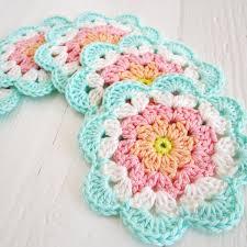 Free Pattern For Crochet Flower - bright u0026 colourful free crochet patterns crochet pinterest