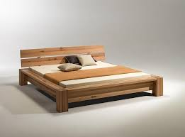 Modern Simple Bedroom Bed Wood Modern Universodasreceitas Com