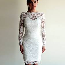 casual wedding dresses with sleeves lace sleeve casual wedding dress ivo hoogveld