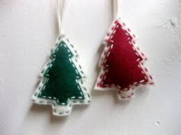 25 adorable felt original ornaments for your tree