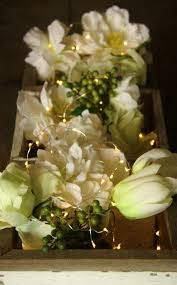 flower arrangements with lights flower centerpieces for wedding with tiny fairy lights http www