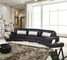 Curved Leather Sofas Large Black Leather Sofa Curved Leather Sofa Classic Couch Black