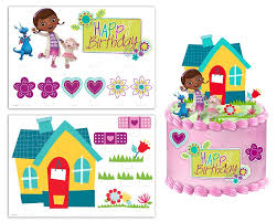 doc mcstuffin cake toppers doc mcstuffins cake topper