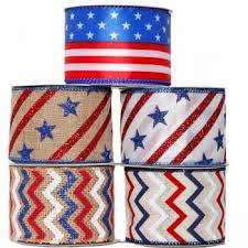 patriotic ribbon departments assorted patriotic ribbon