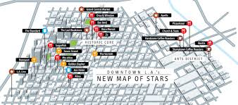 Los Angeles Downtown Map by Gq Declares Downtown La The