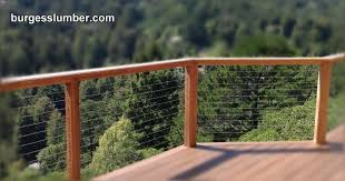 burgess lumber decking railing and fence