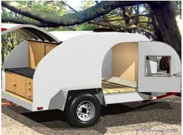 Teardrop Camper With Bathroom Build Your Own Teardrop Camping Trailer 20 Steps With Pictures