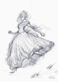 cinderella sketch by doven on deviantart