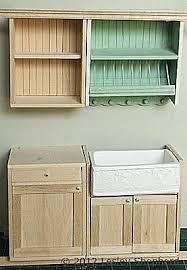 dollhouse kitchen furniture add opening glass front cabinets to a dollhouse miniature kitchen