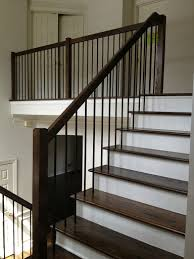 Wood Banisters And Railings Iron Baluster Styles Modern Google Search Stairs Pinterest