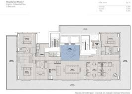one miami floor plans floor plans of glass miami beach condo structural systems cn tower