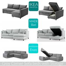 corner lounge with sofa bed chaise home the best grey corner sofa beds with storage evans crittens