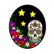 flower sugar skull sweatshirt spreadshirt