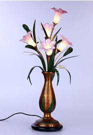 Flower Table Lamp Beautiful Table Lamps 25 Ways To Make Your Homes Attractive And
