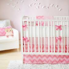 chevron crib bedding nursery