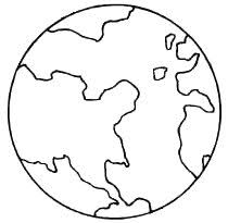 photos printable coloring picture earth printable
