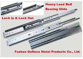 drawer slide locking mechanism heavy load bearing drawer slide lock in lock out buy