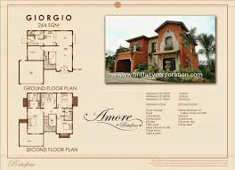 sle house floor plans selena of soluna house and lot for sale in bacoor cavite l