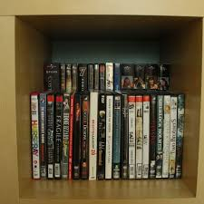 Dvd Bookcase Storage Creative Diy Cd And Dvd Storage Ideas Or Solutions Hative