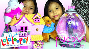 lalaloopsy sew sweet playhouse and novi stars energy pod kids