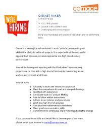 Cabinet Maker Skills Comace Pty Ltd Linkedin
