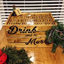 my wife made me a beer advent calendar for christmas this year