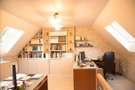 bureau sous pente bureau sous comble