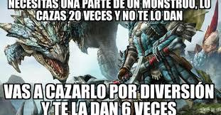 Monster Hunter Memes - cuánto cabrón búsqueda de monster hunter en cuantocabron com