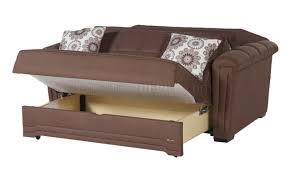 microfiber modern convertible loveseat bed w pillows truffle microfiber modern convertible loveseat bed w pillows
