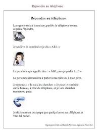 comment repondre au telephone au bureau 51 best fle portable images on vocabulary
