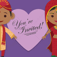 indian wedding invites indian wedding invitation vector image 1244217 stockunlimited