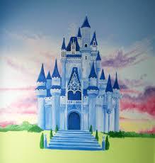 sunset castle princess party pinterest princess mural sunset castle castle muralcastle drawingprincess