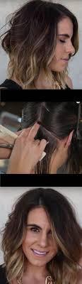 wavy lob haircut tutorial how to cut the perfect long bob lob haircut youtube