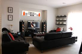 Home Theater Rug Beautiful Black Wood Glass Cool Design Amazing Modern Home Theater