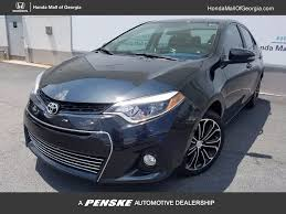 2014 used toyota corolla 4dr sedan cvt s plus at honda mall of