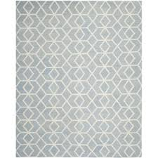Gray And Blue Area Rug Modern Flat Woven Area Rugs Allmodern